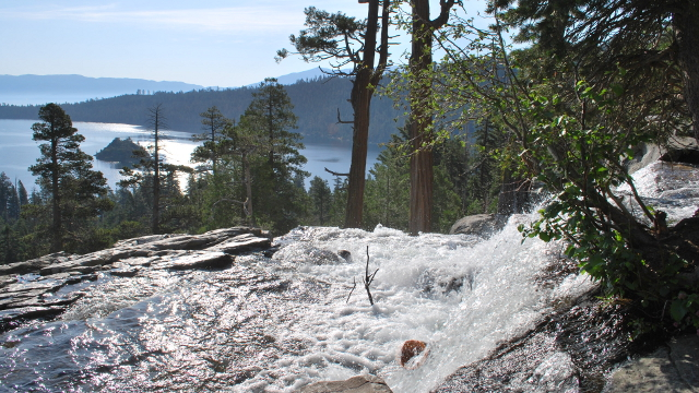 Eagle Falls over Emerald Bay