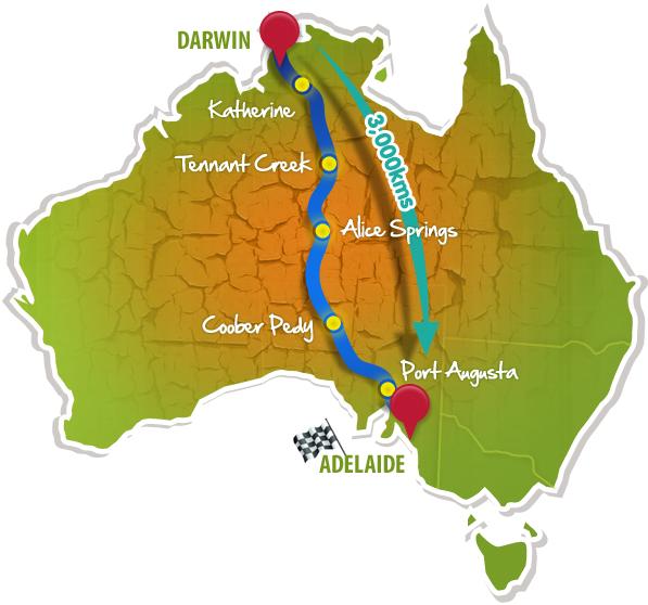 stanford solar car races across australian desert