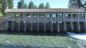 Tahoe dam