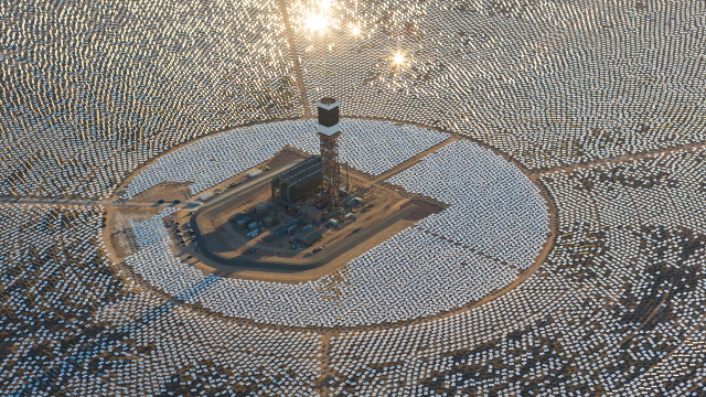 Largest Solar Plant In The World Goes Through Last Test Before Opening Kqed
