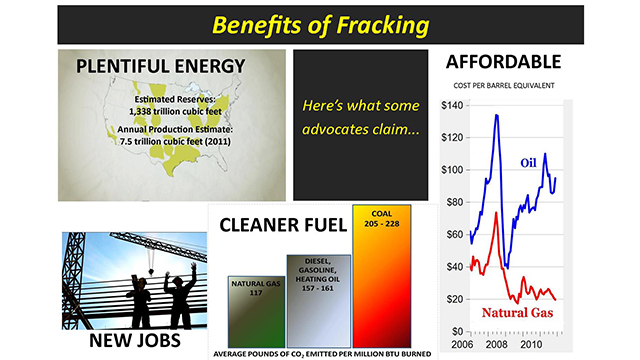 Claims Of Advocates The Benefits Of Hydraulic Fracturing Kqed