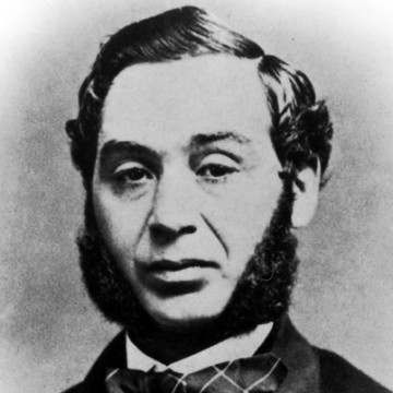 Portrait of Levi Strauss (Public Domain)