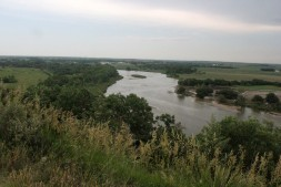 Overlooking the Loup River