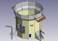 The LBNL team designed the Berkeley-Darfur cookstove to fit the food type, cooking style, pot shapes, and environmental conditions in Darfur (primarily wind and sand).