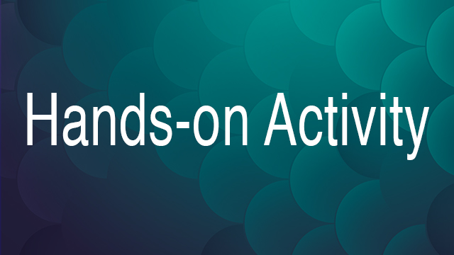 Hands-on activity title