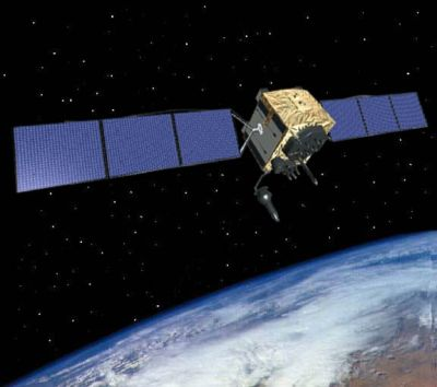 The Global Positioning System IIF satellite, developed and built by Boeing, is the next generation of GPS satellite.