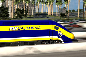 "Discuss the ""California's High Speed Rail"" TV story"
