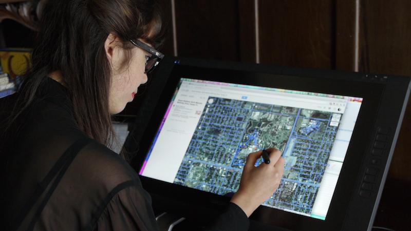 Jenny Odell navigating Google Maps