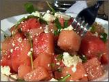 Watermelon, Arugula and Feta Cheese Salad