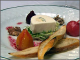 Goat Cheese and Fourme DAmbert Terrine