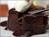Warm Chocolate Torte