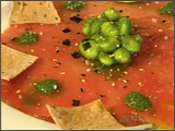 Carpaccio of Yellowfin Tuna