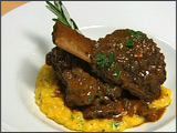 Braised Short Ribs with Mascarpone Polenta