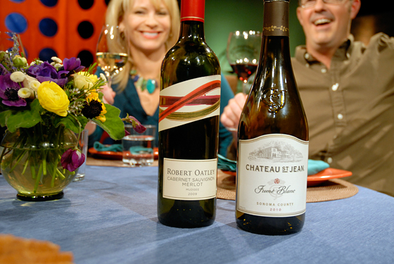 Wines drank on set of Check, Please! Bay Area episode 708