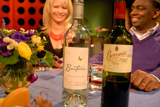 Wines drank on set of Check, Please! Bay Area episode 707