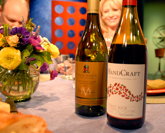 Wines drank on set of Check, Please! Bay Area episode 710