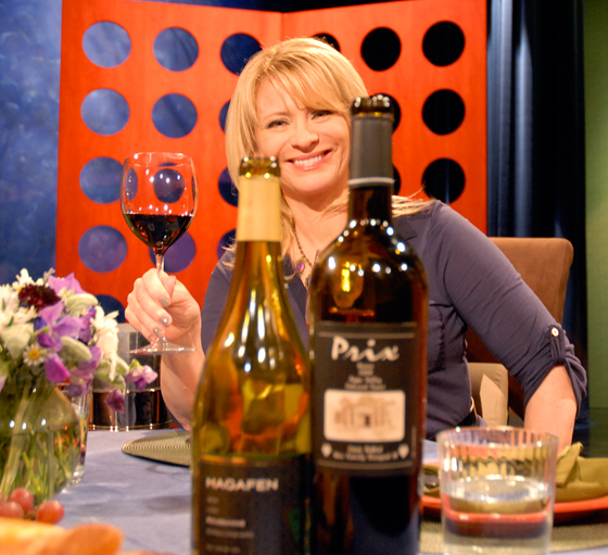 Wines drank on set of Check, Please! Bay Area episode 711