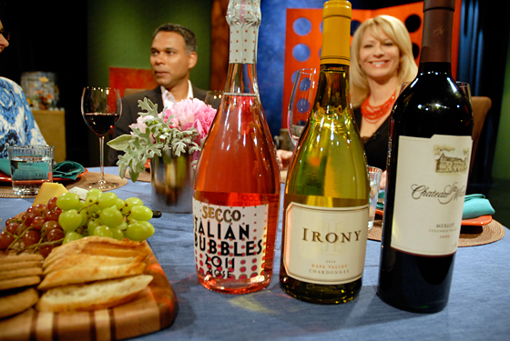 Wines drank on set of Check, Please! Bay Area episode 712