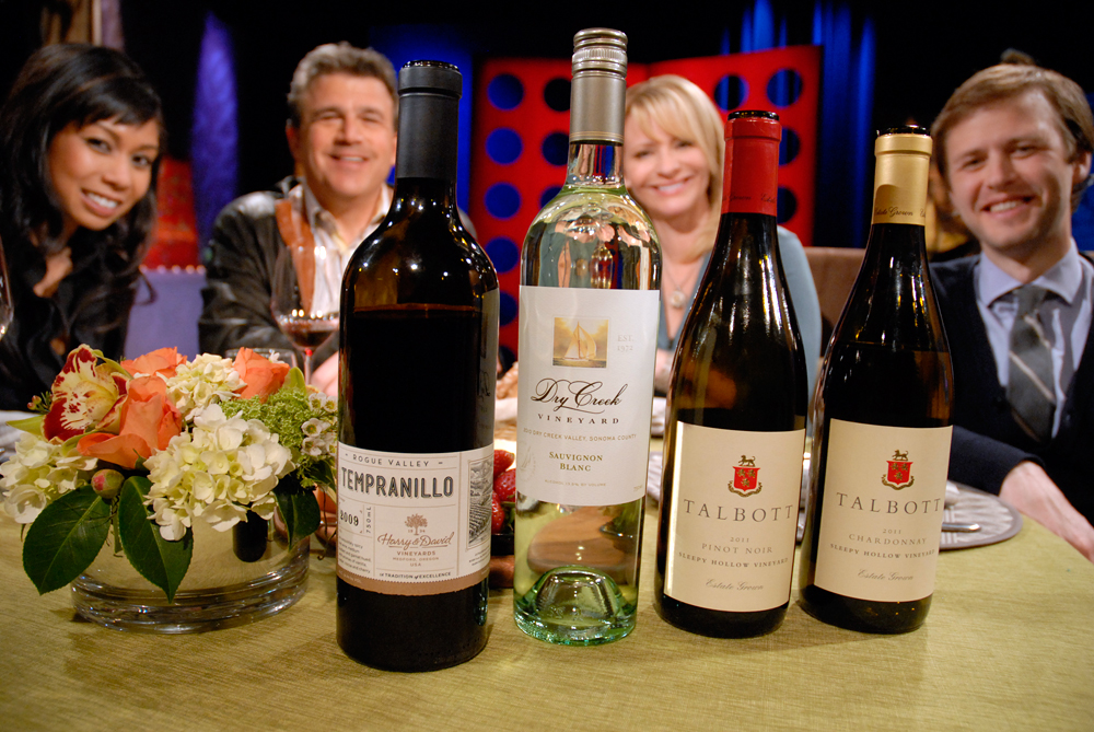 Wines drank on set of Check, Please! Bay Area episode 802