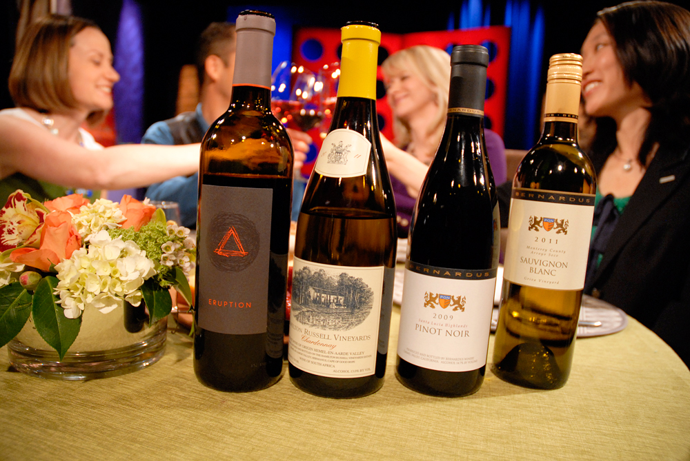 Wines drank on set of Check, Please! Bay Area episode 803
