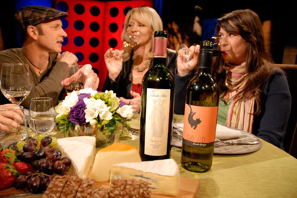 Wines drank on set of Check, Please! Bay Area episode 804