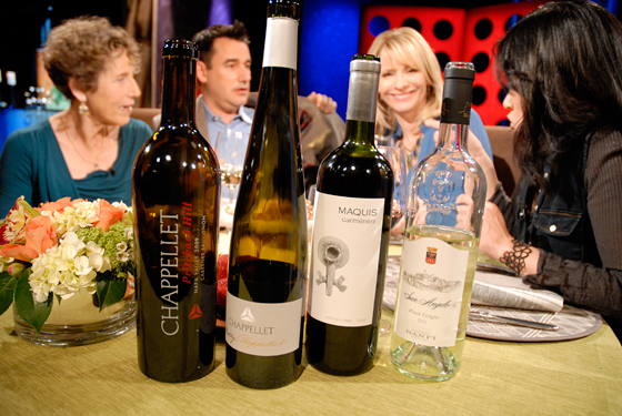 Wines drank on set of Check, Please! Bay Area episode 801