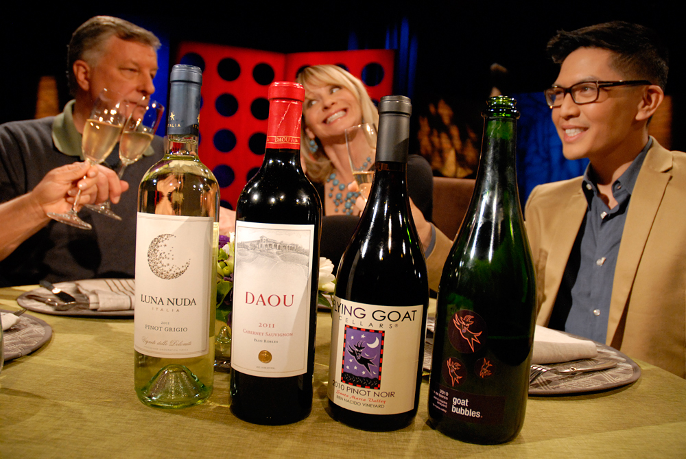 Wine that Leslie Sbrocco and guests drank on the set of Check, Please Bay Area episode 805.