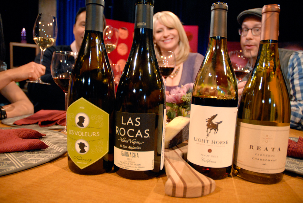 Wines that Leslie Sbrocco and guests drank on the set of Check, Please Bay Area episode 901