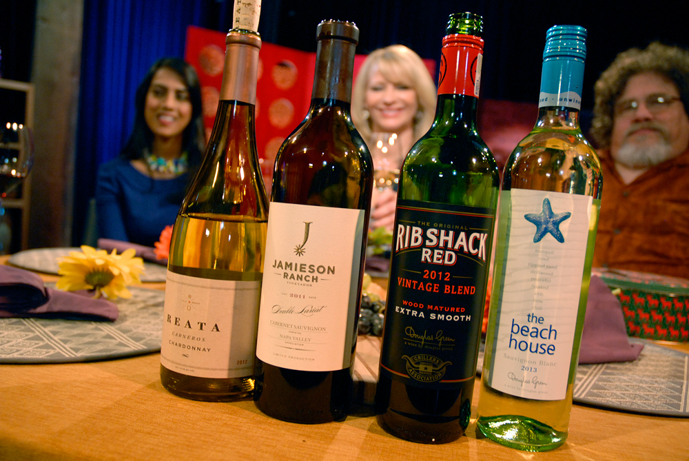 Wines that Leslie Sbrocco and guests drank on the set of Check, Please Bay Area episode 902.