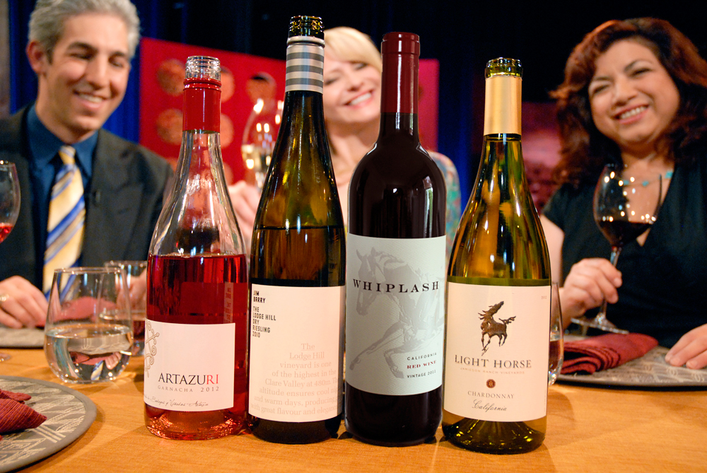 Wines that Leslie Sbrocco and guests drank on the set of Check, Please Bay Area episode 904.