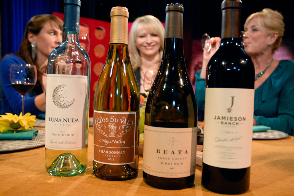 Wines that Leslie Sbrocco and guests drank on the set of Check, Please Bay Area episode 906