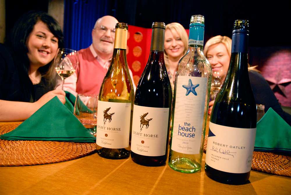 Wines that Leslie Sbrocco and guests drank on the set of Check, Please Bay Area episode 907