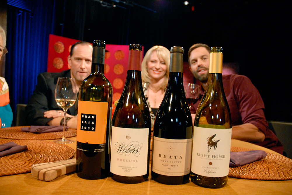 Wines that Leslie Sbrocco and guests drank on the set of Check, Please Bay Area episode 908