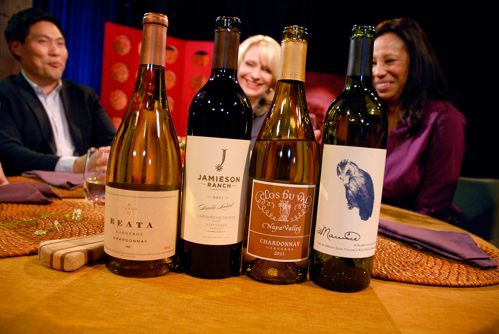 Wines that Leslie Sbrocco and guests drank on the set of Check, Please Bay Area episode 909