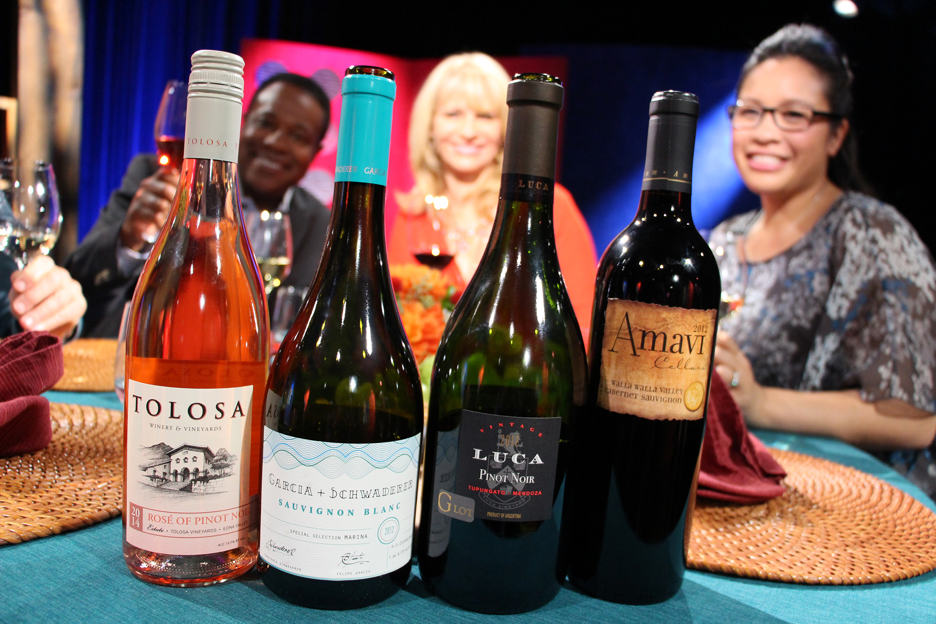 Wines that guests drank on the set of the sixth episode of season 10.