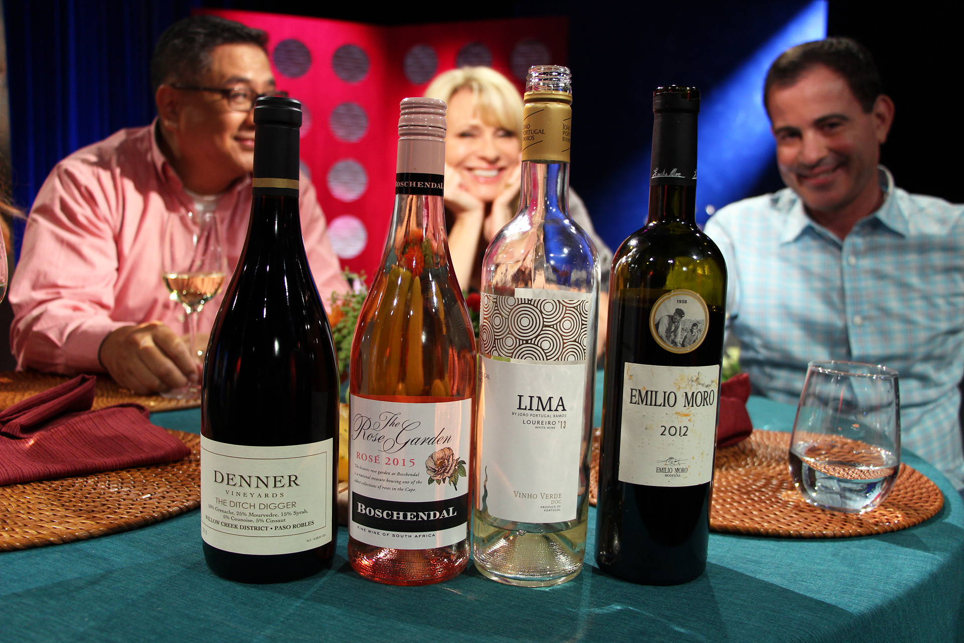 Wines that guests drank on the set of the fifth episode of season 10.