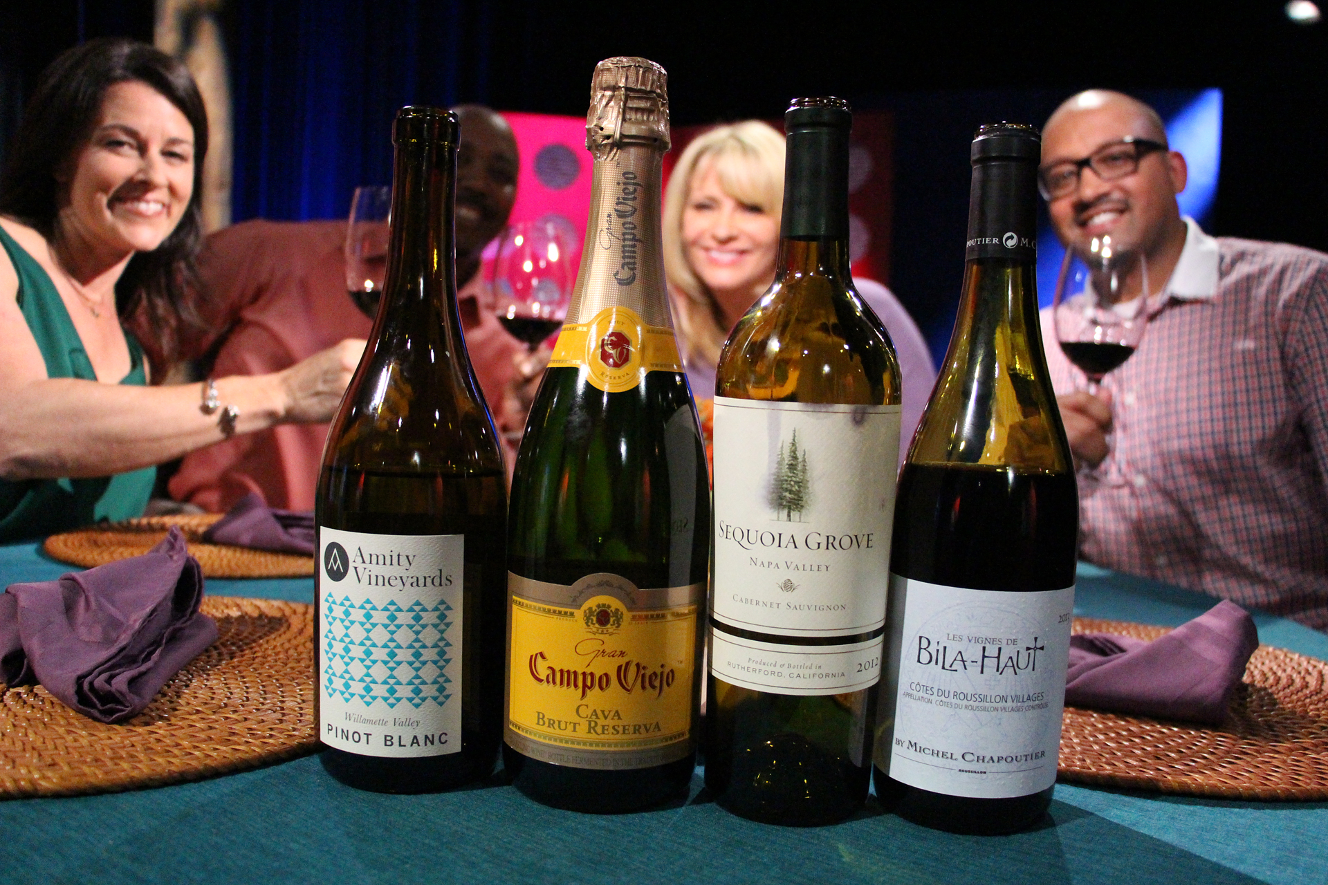 Wines that guests drank on the set of the seventh episode of season 10.