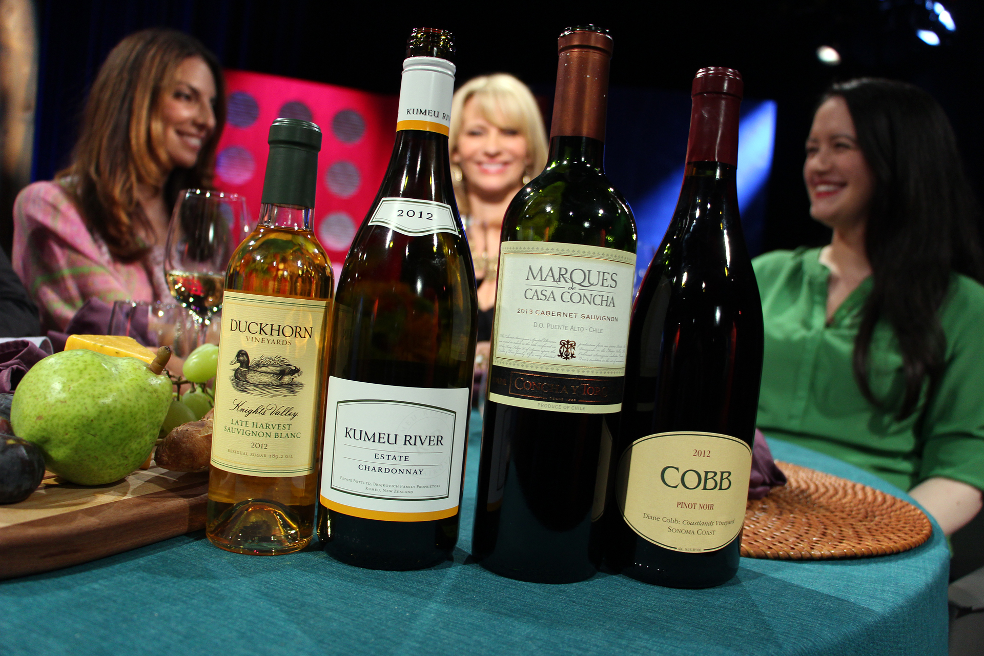 Wines that guests drank on the set of the ninth episode of season 10.