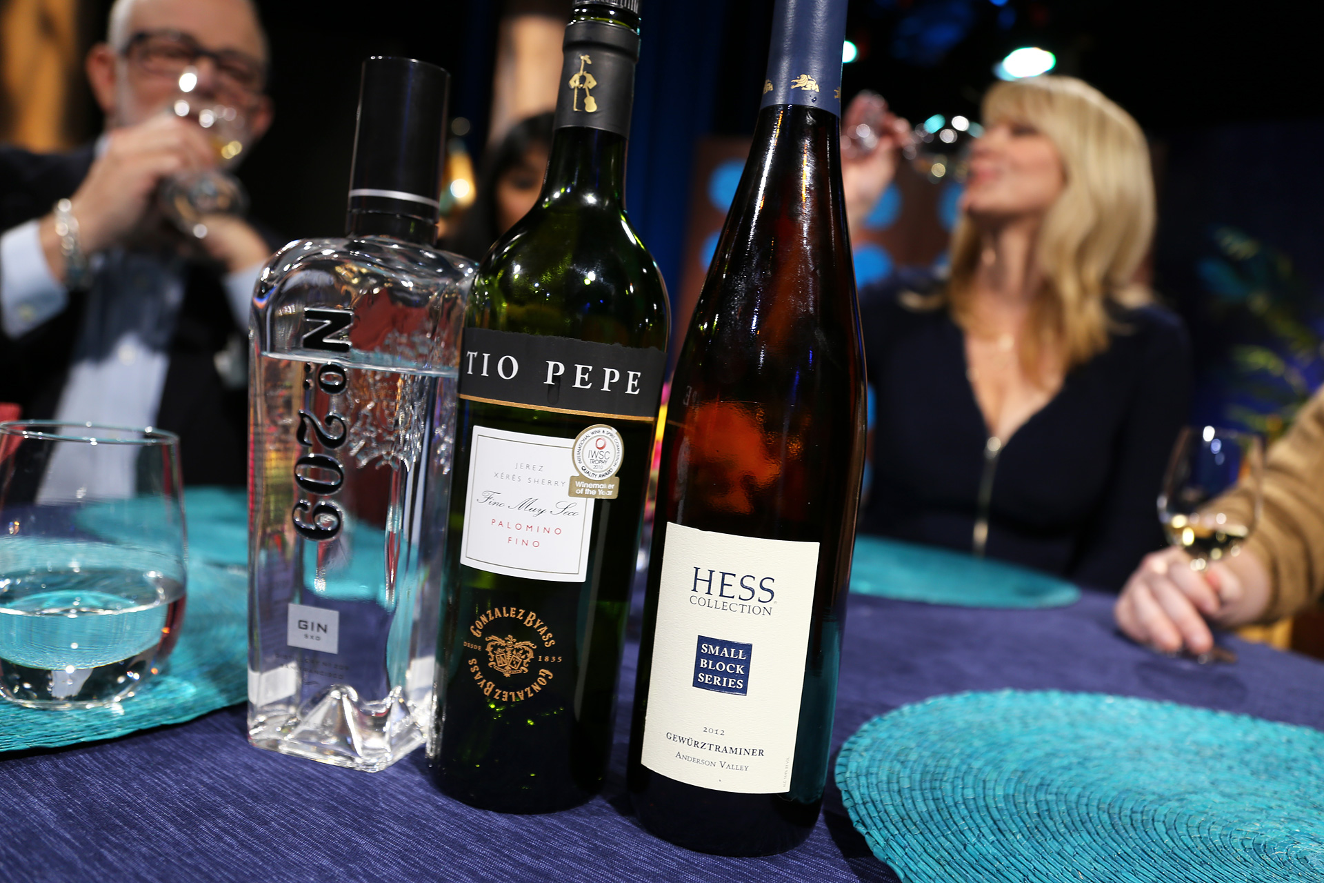 Gin and wines that guests drank on the set of the fourth episode of season 11.