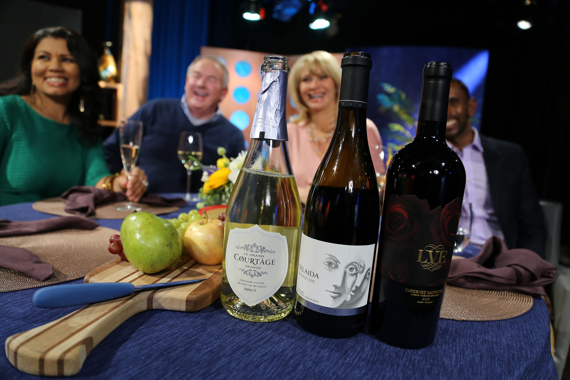 Wines that guests drank on the set of the eighth episode of season 11.
