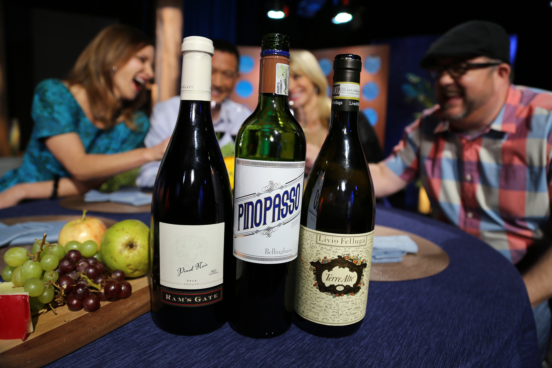 Wines that guests drank on the set of the ninth episode of season 11.
