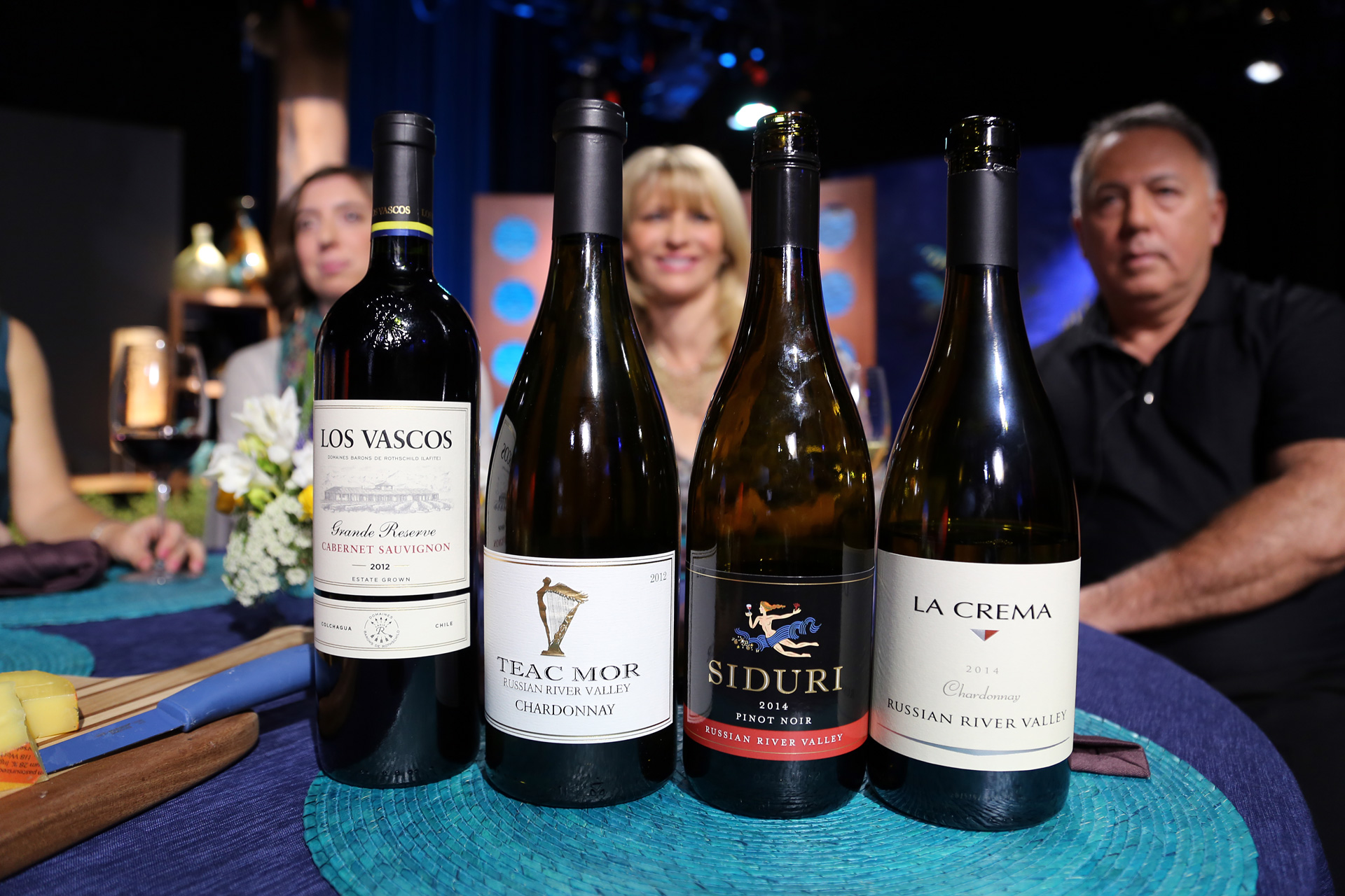 Wines that guests drank on the set of the tenth episode of season 11.