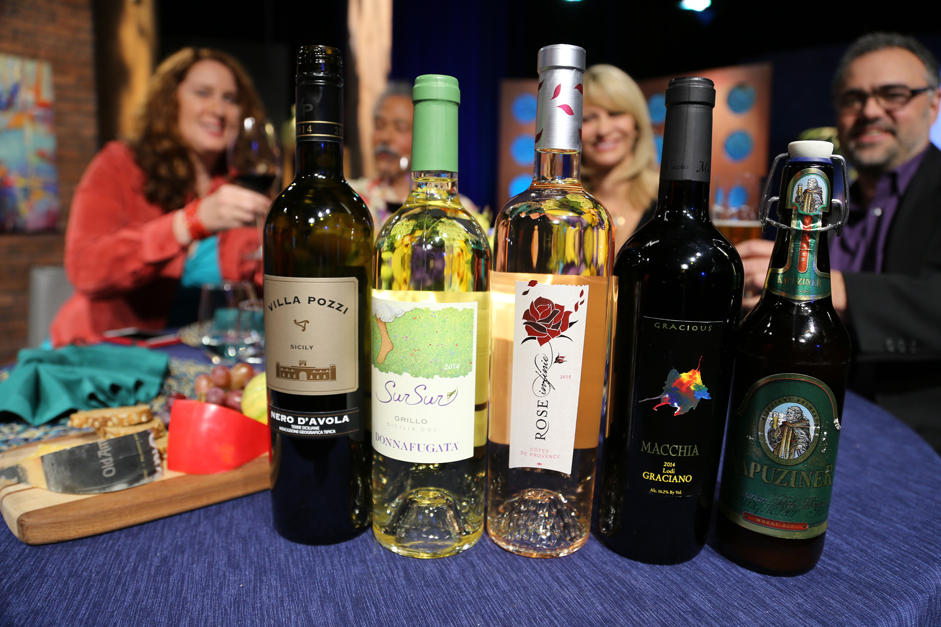 Wines that guests drank on the set of the thirteenth episode of season 11.