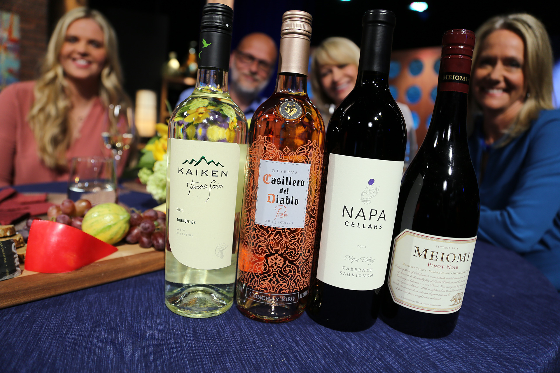 Wines that guests drank on the set of the twelfth episode of season 11.