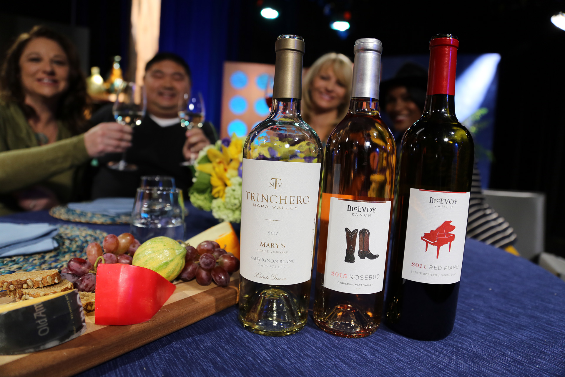 Wines that guests drank on the set of the fifteenth episode of season 11.