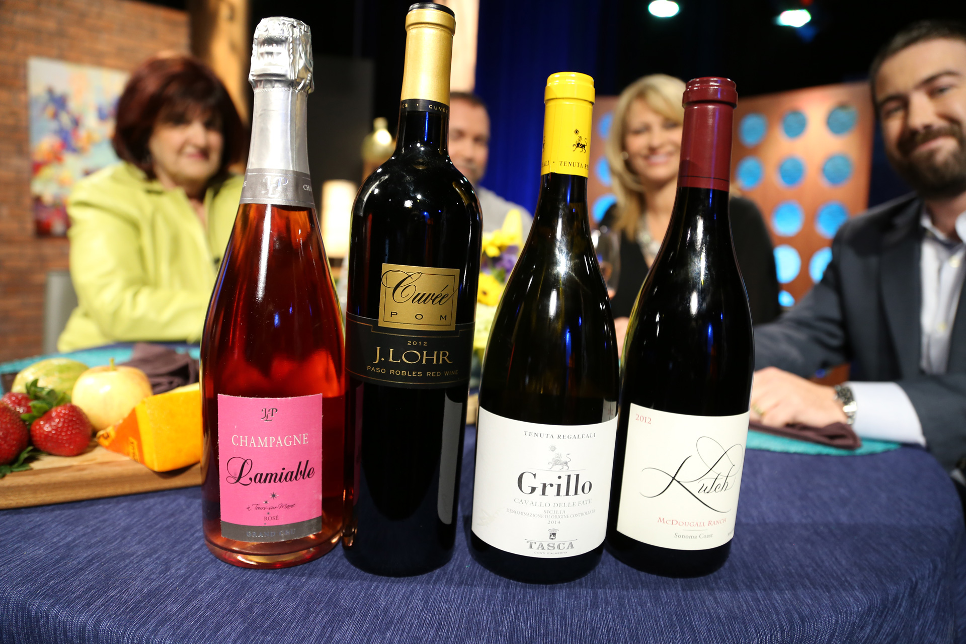Wines that guests drank on the set of the sixteenth episode of season 11.