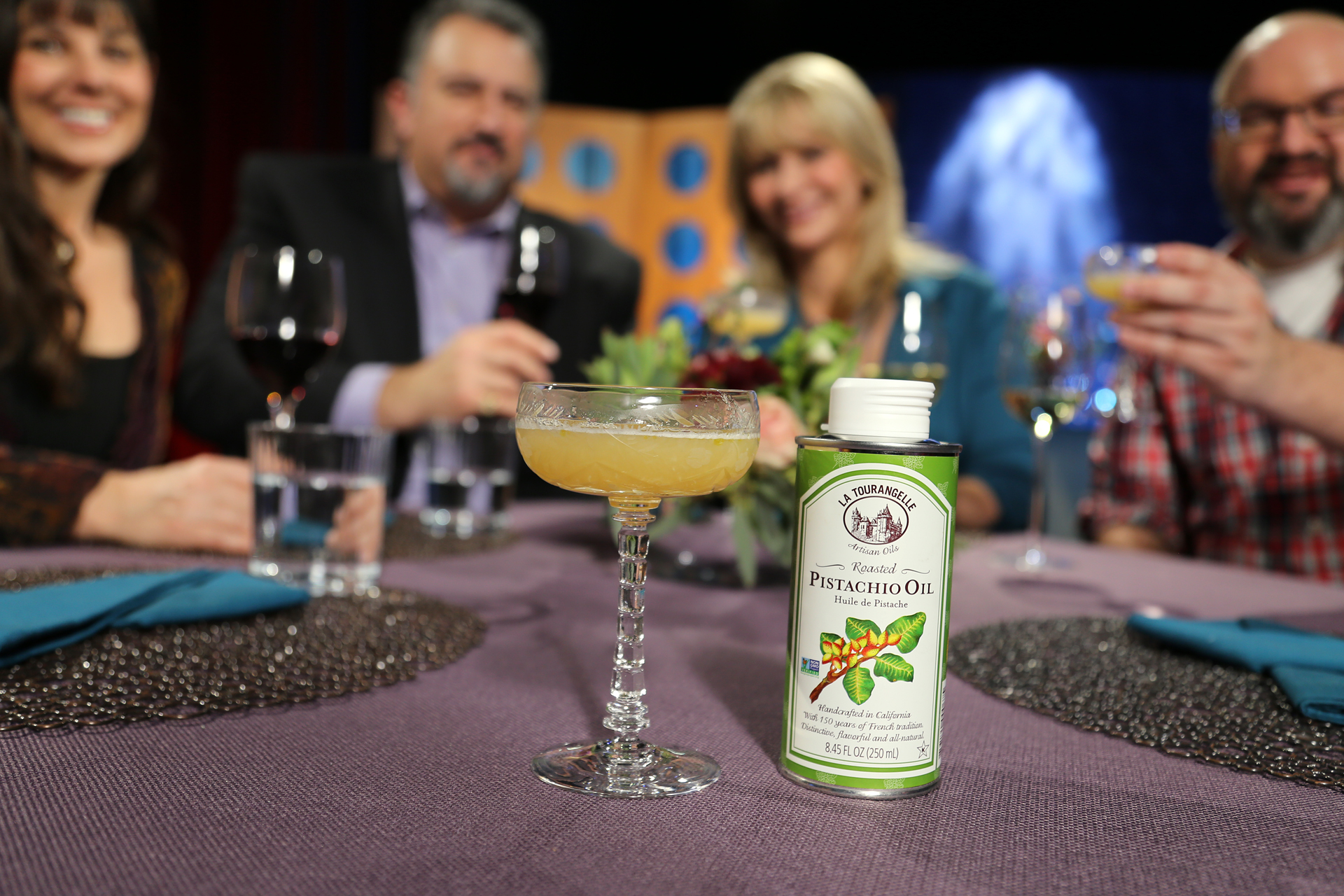 Get a taste of the Pyrenees with this delicious and flavorful cocktail recipe featuring Pistachio oil!