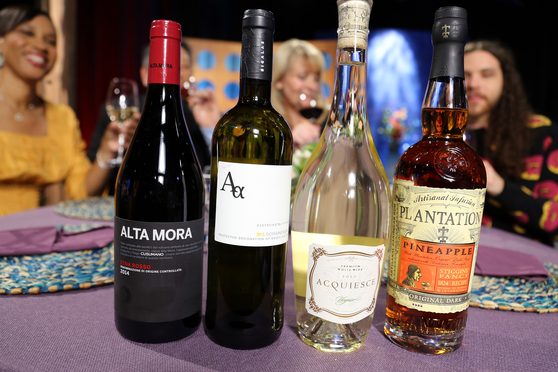 Wine and spirits that guests drank on the set of season 12 episode 9.
