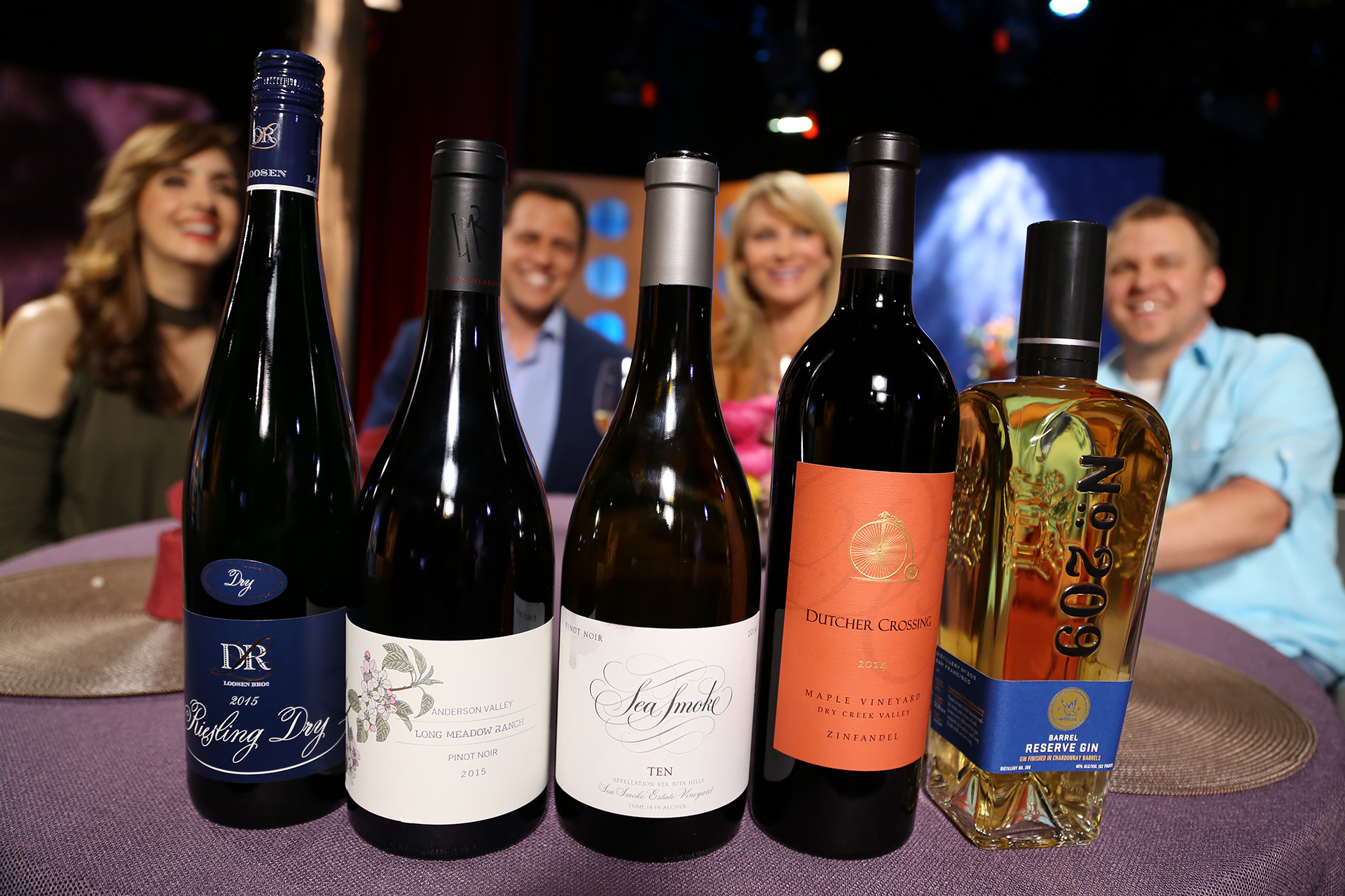 Wine and spirits that guests drank on the set of season 12 episode 16.