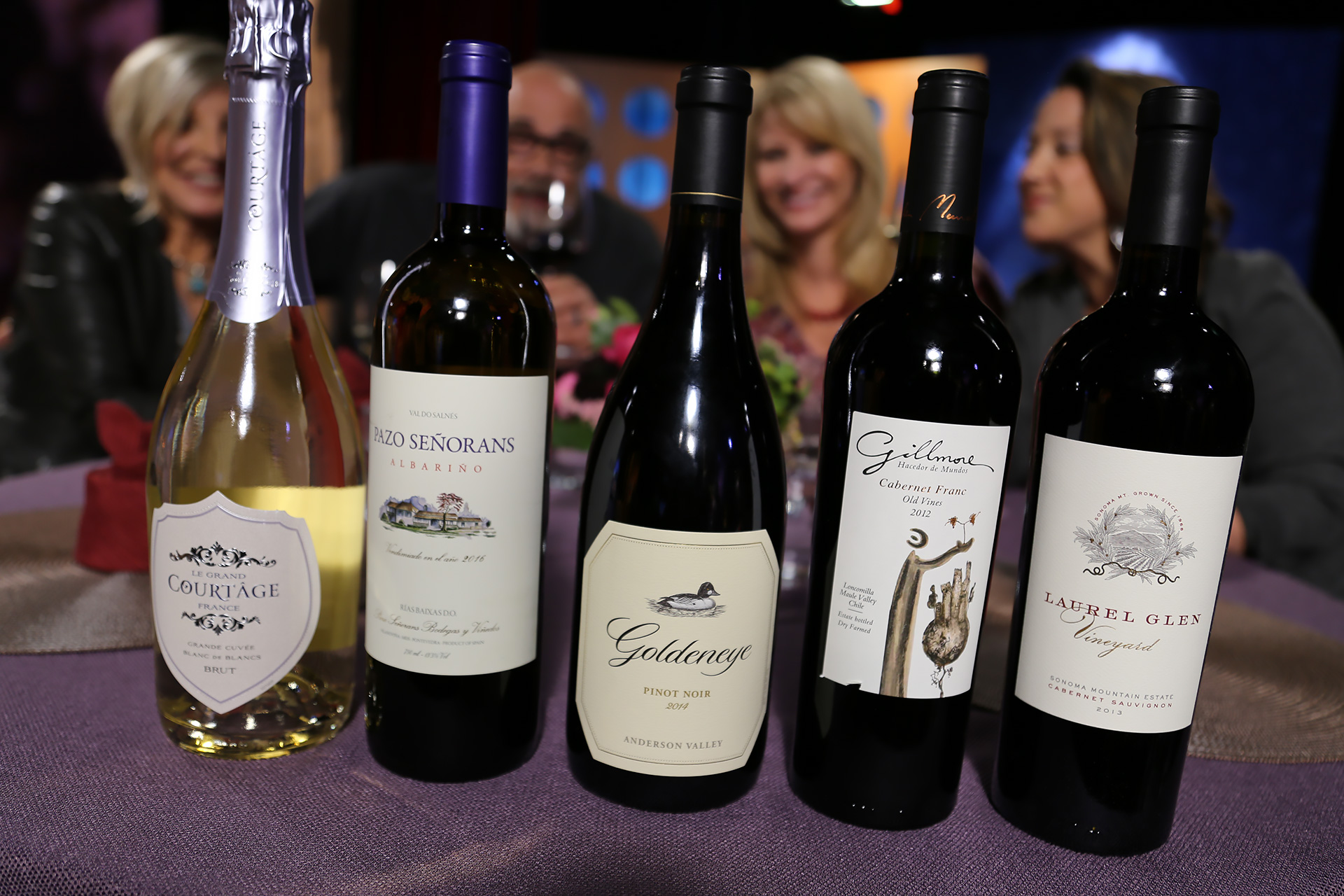 Wine that guests drank on the set of season 12 episode 18.